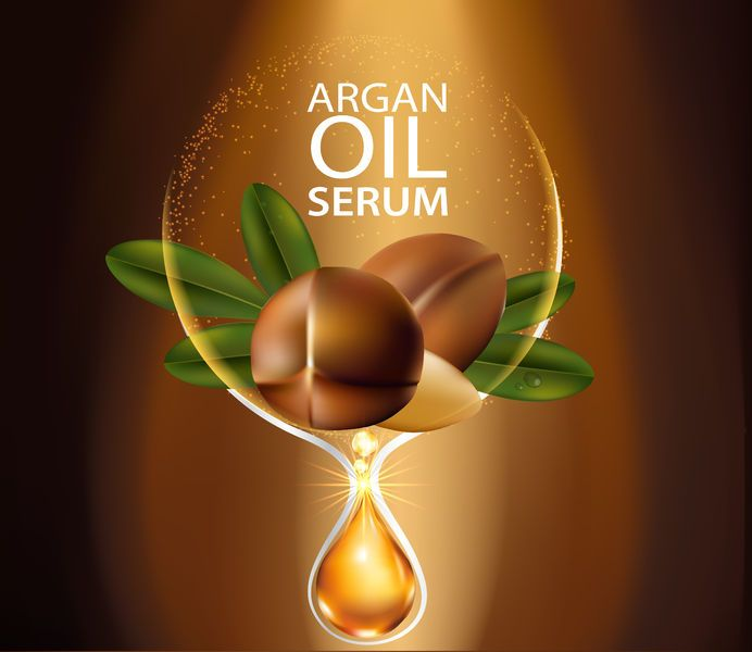 66440466 - argan oil serum skin care cosmetic.